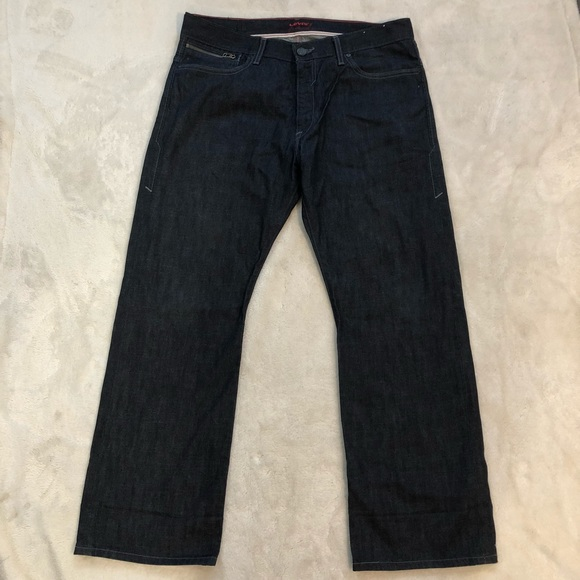 Levi's Other - Levi's Red label Dark Blue Jeans Size 36/30